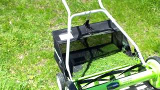 greenworks 20 inch manual push mower