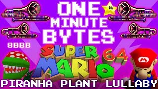 Piranha Plant's Lullaby - One Minute Bytes #9 (The 8-Bit Big Band)