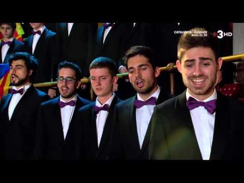 El Cant de la senyera  - Orfeó Català - 26 12 2015   - TV3HD