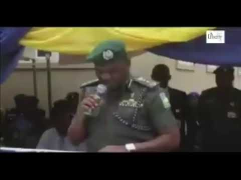 The Real IGP Idris Speech In Kano - Others are doctored.