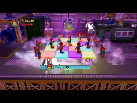 The LEGO Movie Videogame - Everything is Awesome!!! - Builders dance