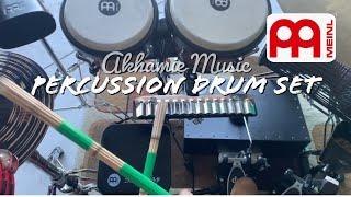 Cajon Drum Set | Meinl Percussion Effects (Fx) | Turbo Crasher | Bass Box | Bongos