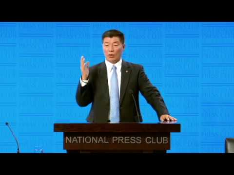 Tibet Dr Lobsang Sangay address to the National Press Club Canberra 8 August 2017 mp4 cba