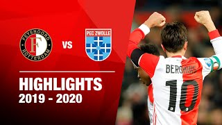 Highlights | Feyenoord - PEC Zwolle | 2019-2020