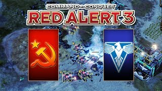 Red Alert 3 Uprising - The Soviets vs Brutal Allied
