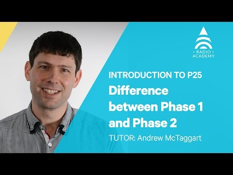 1.4 The Difference between P25 Phase 1 and Phase 2 | Introduction to P25 | Tait Radio Academy