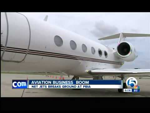 New private aviation terminal at PBIA