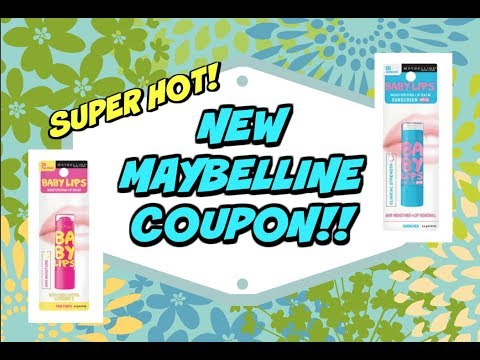graphic relating to Printable Maybelline Coupons identified as Fresh PRINTABLE MAYBELLINE COUPON ~ No material exclusions!! 🔥🔥