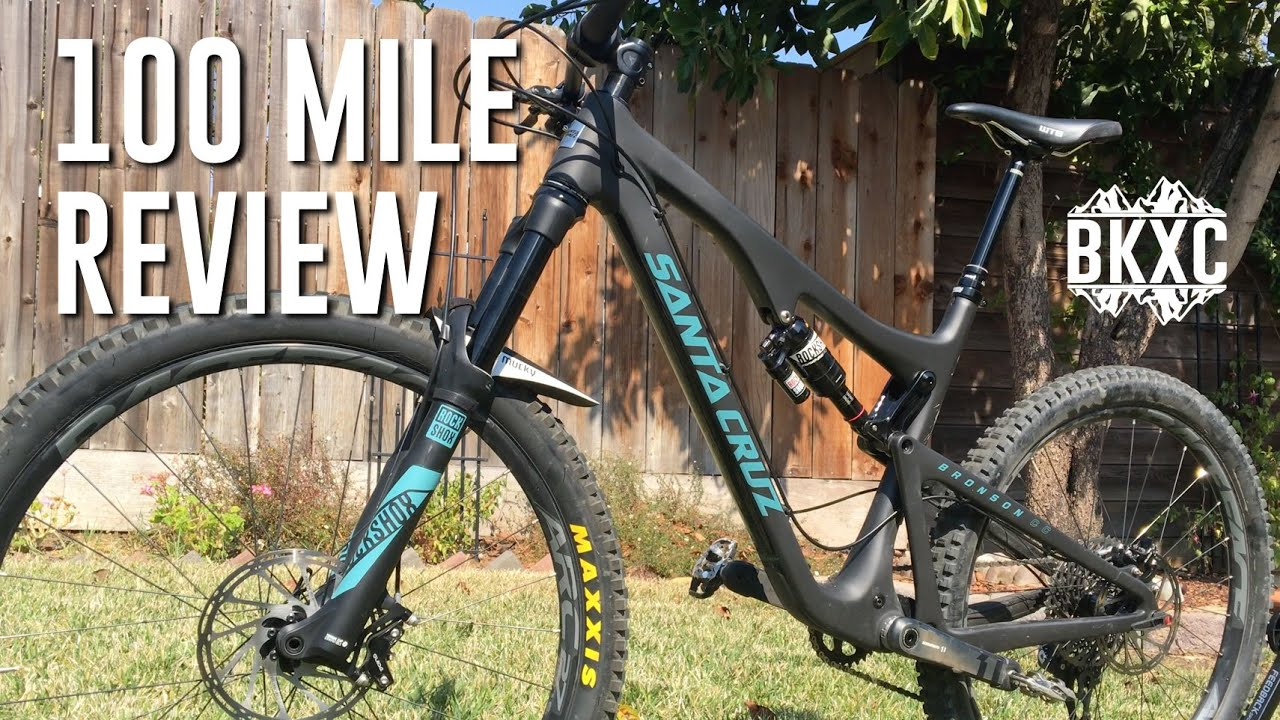 Santa Cruz Bronson 2017 >> 2017 Santa Cruz Bronson Cc X01 100 Mile Review
