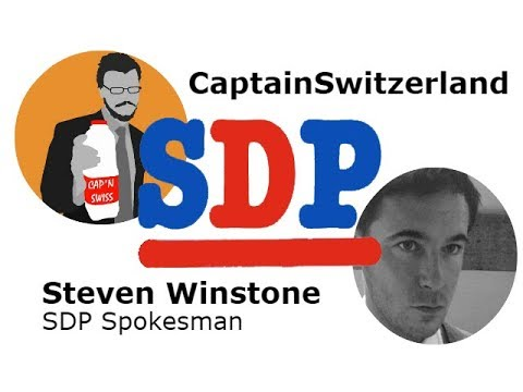 CaptainSwitzerland and Steven Winstone discuss the Social Democratic Party