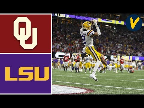 #4 Oklahoma Vs #1 LSU Highlights 2019 College Football Playoff Highlights