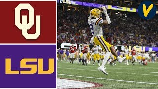 #4 Oklahoma vs #1 LSU Highlights 2019 College Football Playoff Highlights