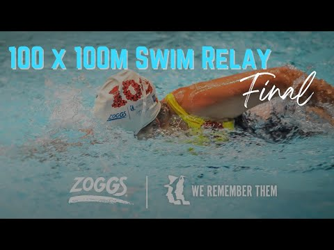 Highlights from the 100m x 100m Swim Relay Final at Ponds Forge
