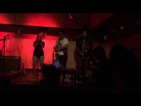 Moon Rocket plays organ with Gumbo funk band - Meridian 23 NYC