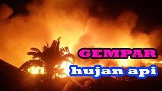 keajaiban allah-hujan api dan hujan batu di indonesia