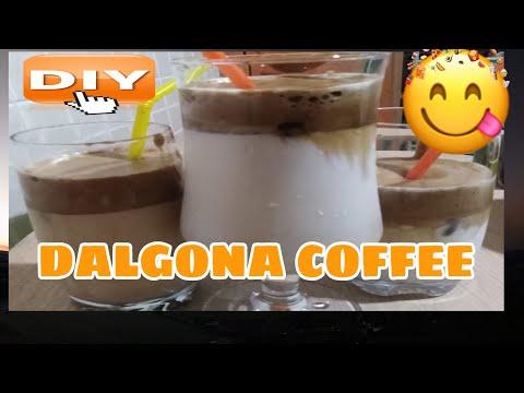 HOW TO MAKE DALGONA COFFEE / DALGONA COFFEE WITH A TWIST (watch Till End) Lhorsef💙