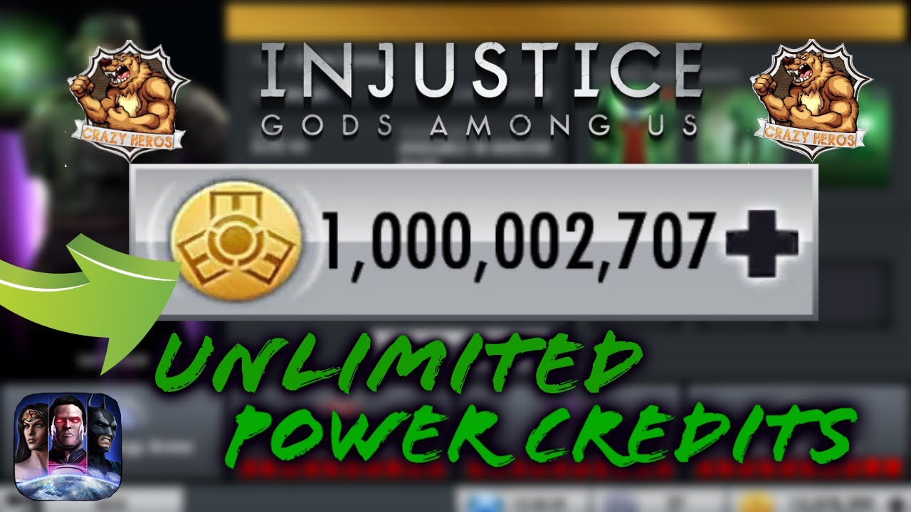 how to get unlimited recharges in injustice