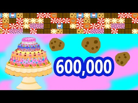 600,000 Cookieswirlc Cookie Fan Sub Special Webkinz Candy Bash Game Play Video Happy Fun