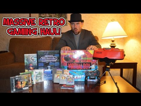 The Great American Retro Gaming Haul! - Top Hat Gaming Man
