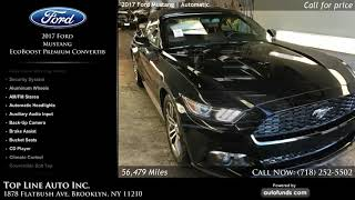 Used 2017 Ford Mustang | Top Line Auto Inc., Brooklyn, NY