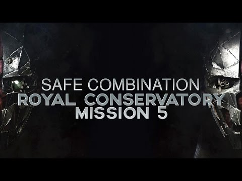 Dishonored 2 Mission 5 Safe Combination Location (Building across Royal Conservatory)