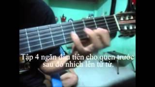 Kỹ thuật ép dây và chạy ngón trong guitar