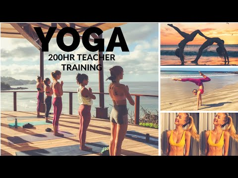DAY IN THE LIFE at YOGA TEACHER TRAINING | Nicaragua