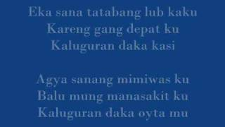 kaluguran daka oyta mu with Lyrics and DOWNLOAD LINK