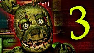 Играю до первой смерти в Five Nights at Freddy 3