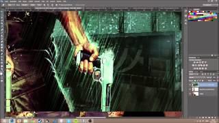 Speedart #3 | Making a Max Payne 3 Wallpaper