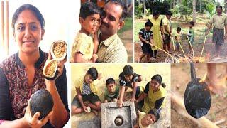 ஆடி 1 நோம்பிக்கு தேங்காய் சுட போறோம் || Siddhu got Angry || Ragul Surprise || village life style