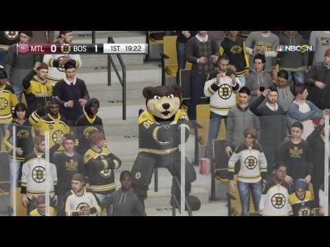 Boston Bruins - NHL 17 Goal Horn and Celebration