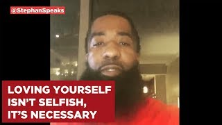 Loving Yourself Isn't Selfish, It's Necessary. In this clip I discu...