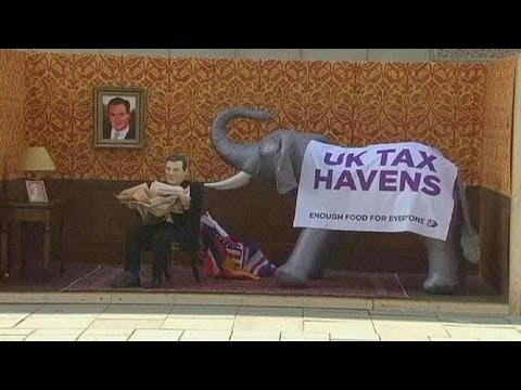 Campaign highlights UK's leading tax haven role - economy