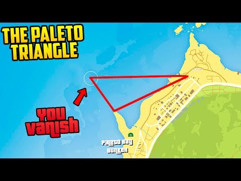 THE MYSTERIOUS PALETO BAY TRIANGLE! YOU DISAPPEAR IF YOU ENTER! WTF?!?
