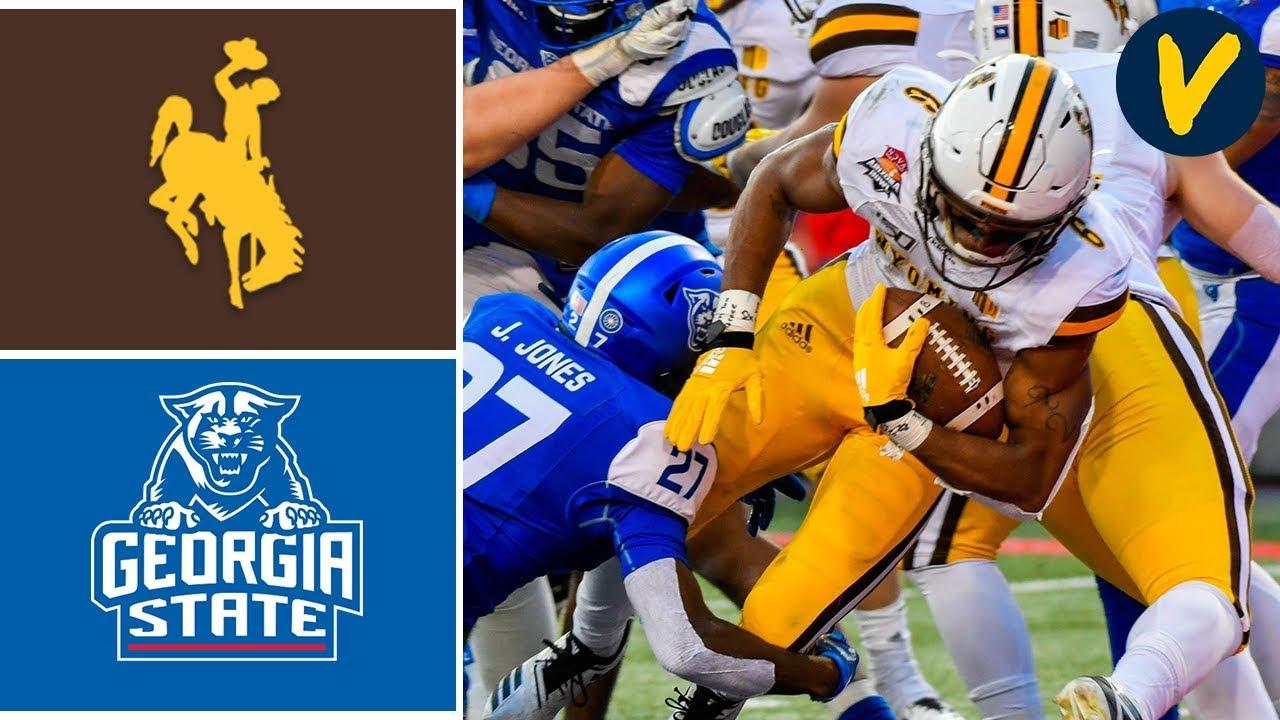Wyoming vs Georgia State Highlights   2019 Arizona Bowl Highlights   College Football