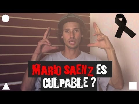 MARIO SAENZ ES CULPABLE? RID SHOES