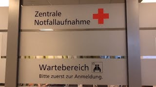 Papa im Krankenhaus