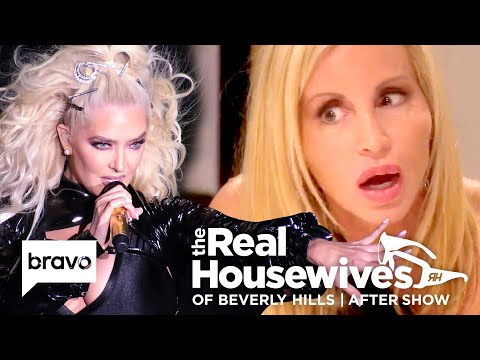 Was Lisa Vanderpump Invited To Camille Grammer's Bridal Shower? | RHOBH After Show (S9 Ep10)
