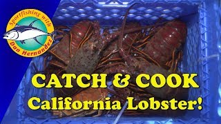 COOK & CATCH Lobster! | SPORT FISHING