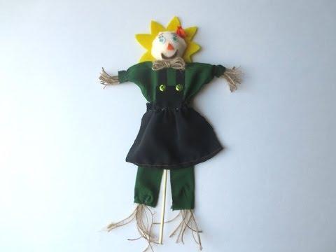 DIY: How to make Scarecrow | Halloween Decor