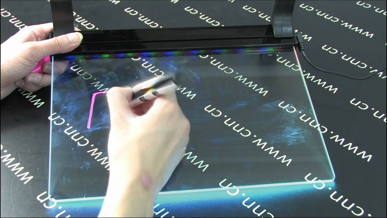 how to build led display board