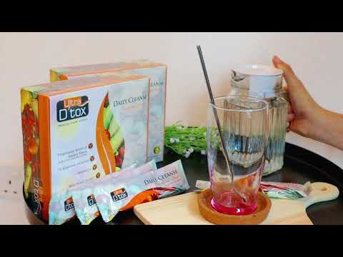 Ultra D'tox - Use Direction | Detox Drink | Genesis Functional Fiber Drink