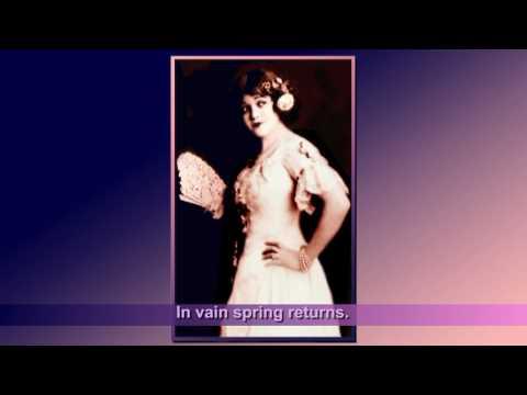 Rosa Ponselle - Élégie / with subtitle 1926