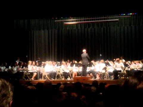 latin fire, dumbarton middle school concert, grade 6