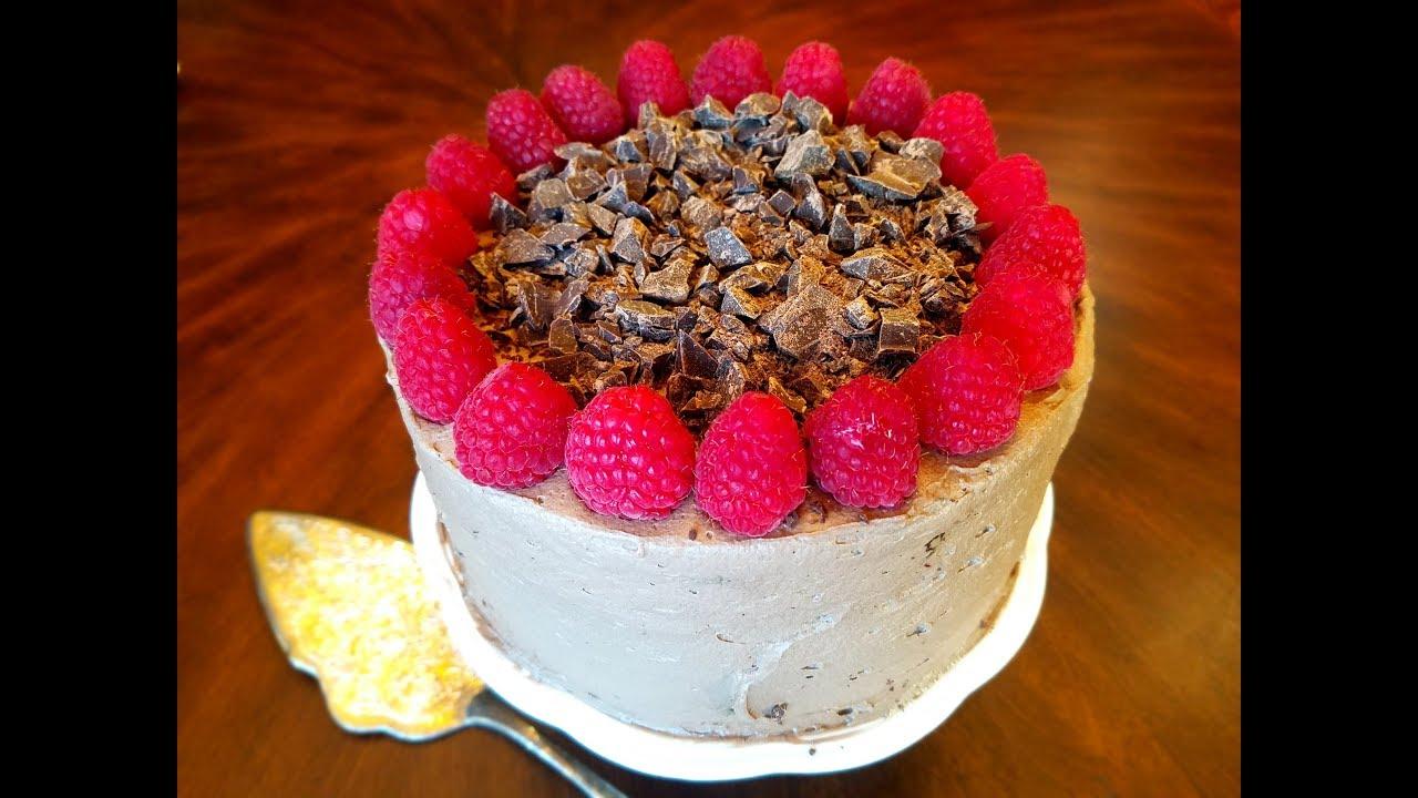 Chocolate Cake Recipe From Scratch: Raspberry Chocolate Sponge Cake From Scratch Recipe