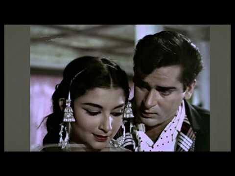 DIWANA HUA BADAL ... SINGER, MOHD RAFI & ASHA BHOSLE ... FILM, KASHMIR KI KALI (1964)