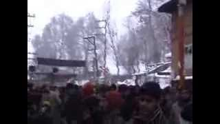 muharram in kashmir budgam in winter