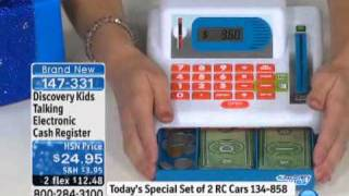Discovery Kids Talking Electronic Cash Register