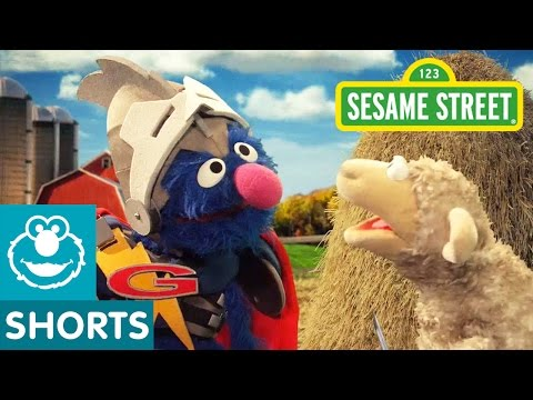Sesame Street: Super Grover's Search for a Needle in a Haystack